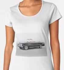 1960 Ford Falcon Sprint Convertible I Women's Premium T-Shirt