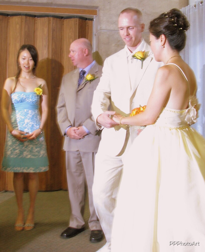 Bride Groom and witnesses by PPPhotoArt