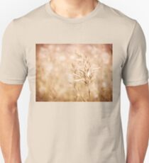 Sepia toned cereal grass inflorescence T-Shirt