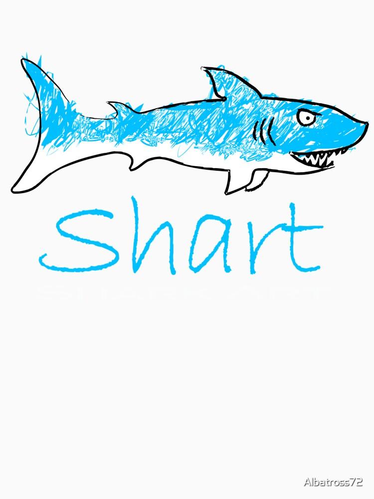 Shart Shark Art Drawing by Albatross72