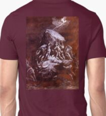 The Clash of the Titans, Gustave Dore T-Shirt