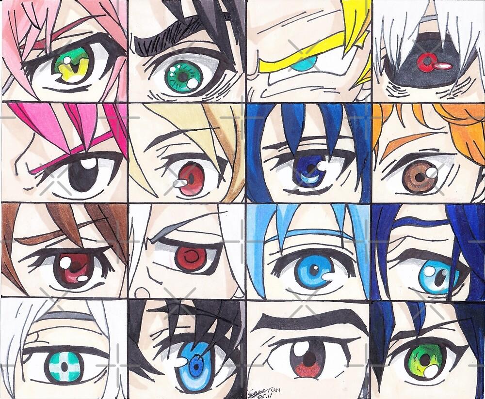 Anime Eyes  by ssanaashaikh