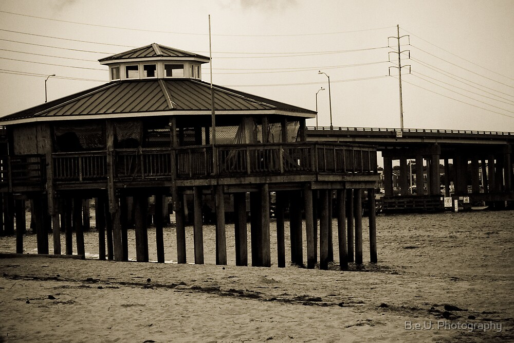Pier at the Bay by B.e.U. Photography