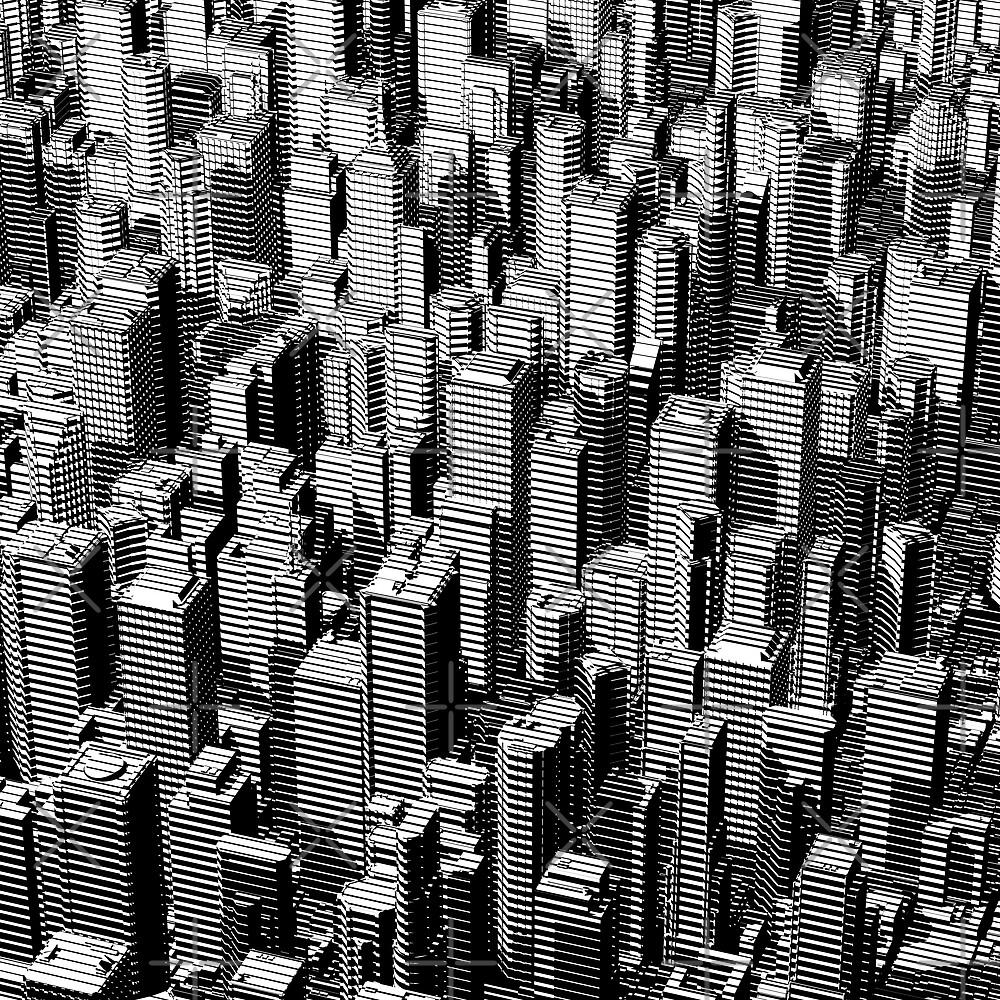 Urban Lines B&W by GrandeDuc