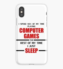 Computer Games iPhone Case/Skin