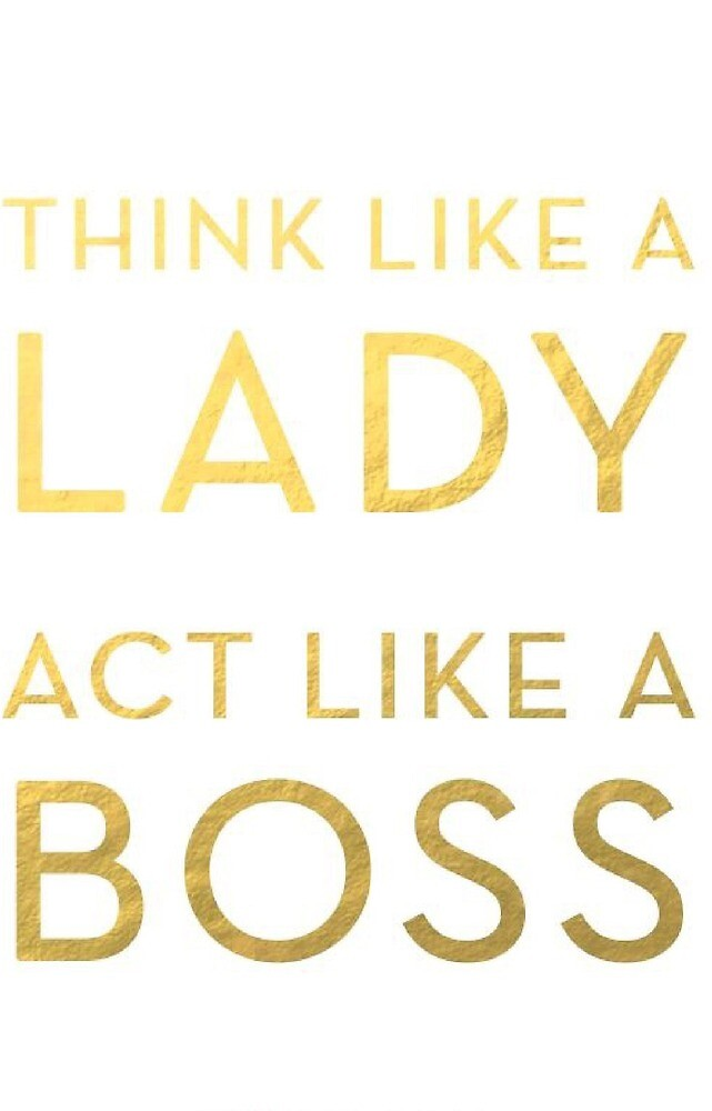 Boss Lady by Rlittle