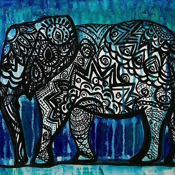 Tribal Elephant by SplendidGypsy
