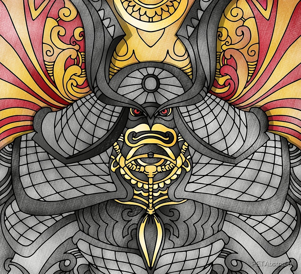 Demon Samurai  by PETAbstractA