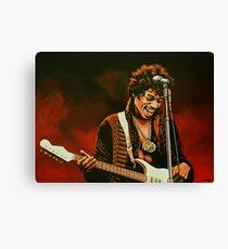 Jimi Hendrix Painting Canvas Print