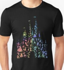 Happiest Castle On Earth (Rainbow Explosion) Unisex T-Shirt