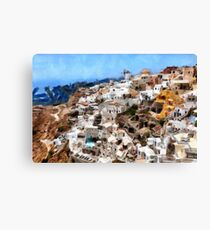 Greece, Santorini Canvas Print