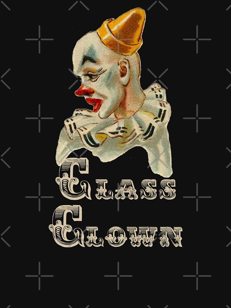 Vintage Class Clown-Pale Colours by broadmeadow