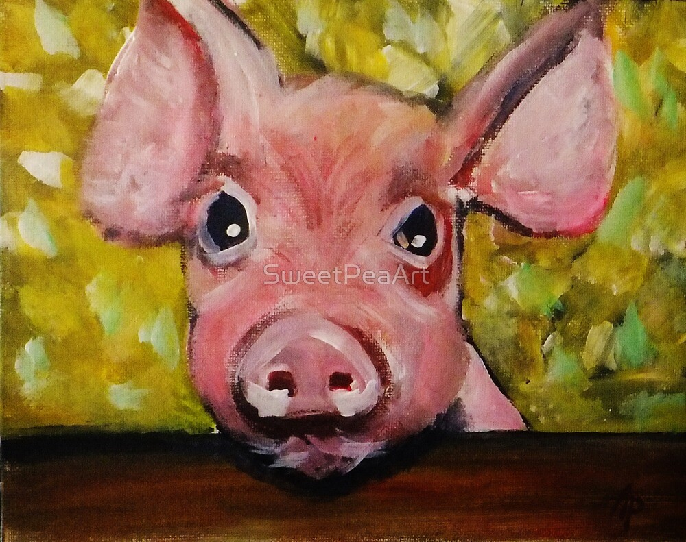 Piggy! by SweetPeaArt