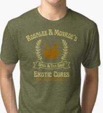 Rosalee & Monroe's Exotic Spice & Tea Shop Tri-blend T-Shirt