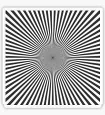 Psychedelic Pattern Sticker