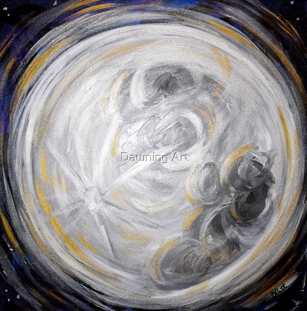 Full Moon by Dawning Art