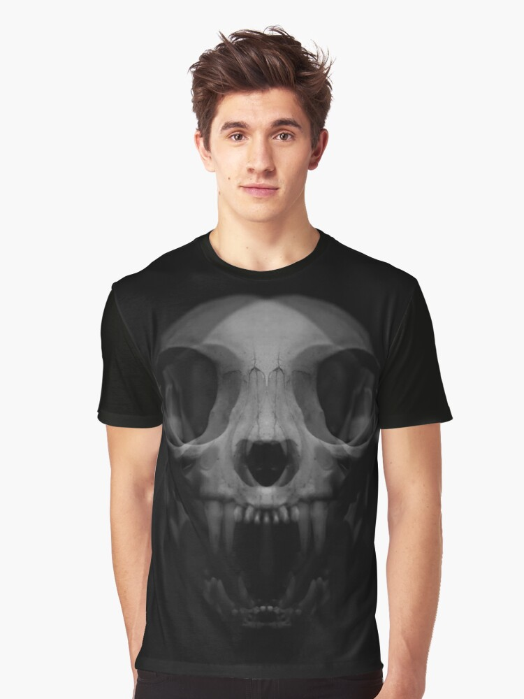 Skull Graphic T-Shirt Front