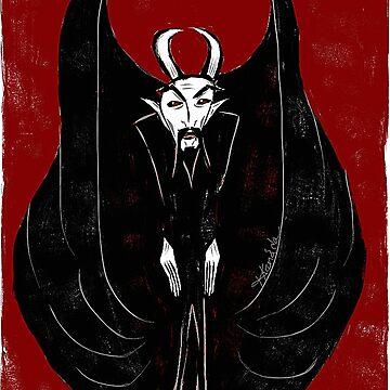 Devilish Vamp by khamarupa