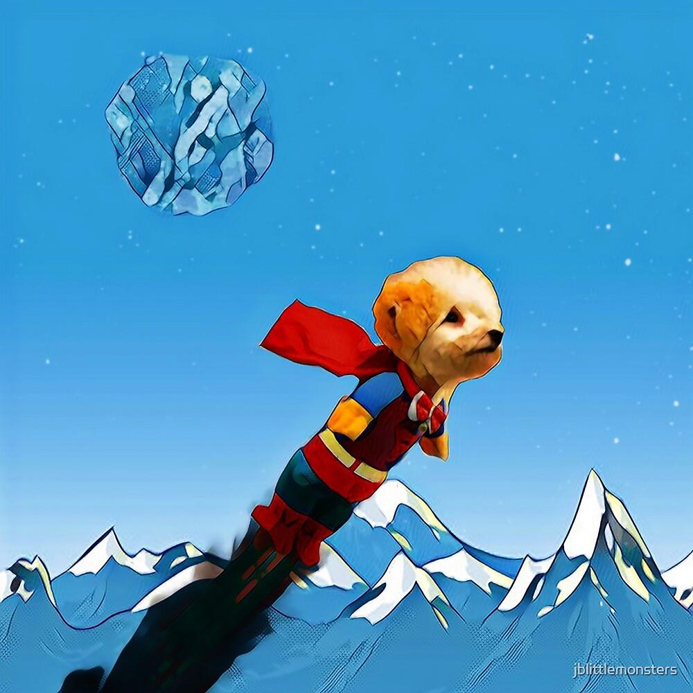 Superdoggy by jblittlemonsters
