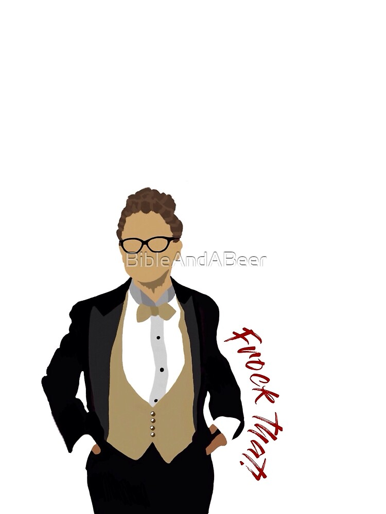 "Orphan Black Cosima ""Frock That"" Graphic by BibleAndABeer"
