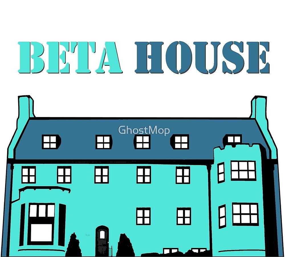 Beta House (Tiff. Blue) by GhostMop