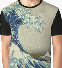 Japanese Wave Kanagawa Japan Graphic T-Shirt