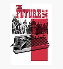 Future Now Atari 2600 Photographic Print