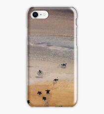 Turtle Race iPhone Case/Skin