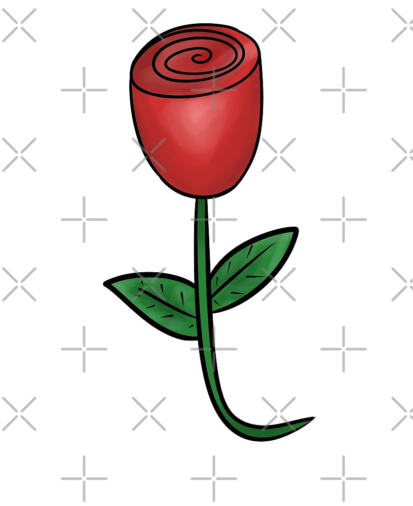 The rose is sweeter in the bud than full blown. by MissMarine's Art