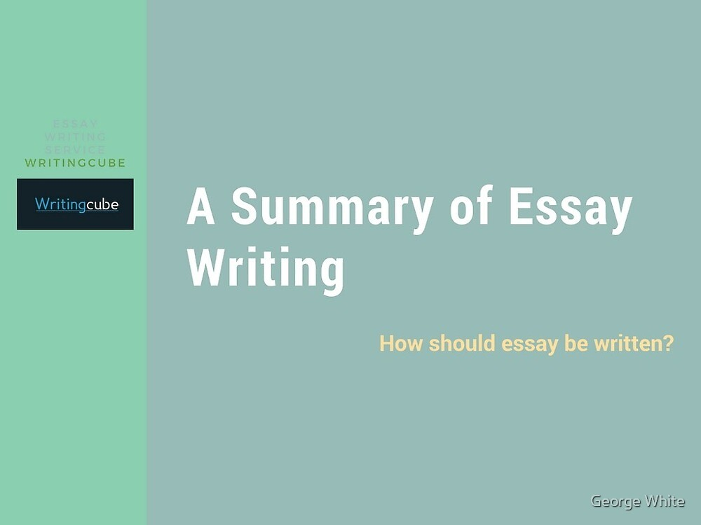 Get assignments papers - WritingCube? by George White