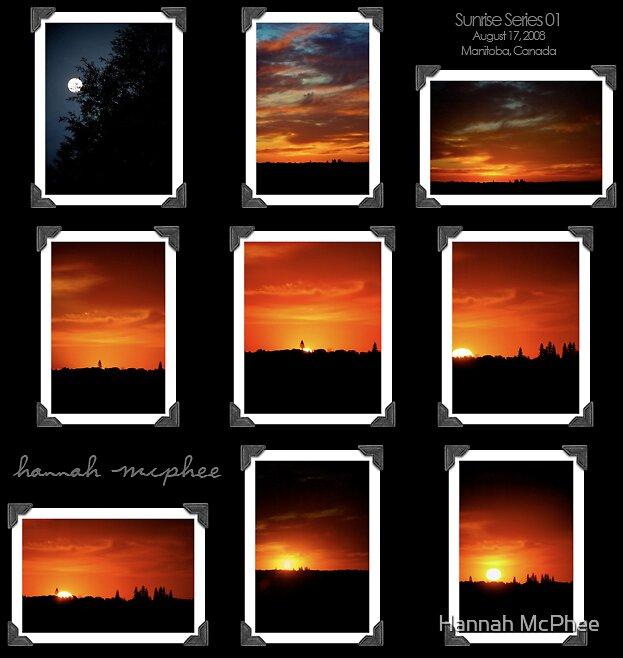 Sunrise Series 01 by Hannah McPhee