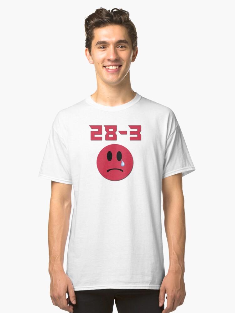 Super bowl LI Atlanta Falcons humor Classic T-Shirt Front