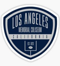 Los Angeles Memorial Coliseum Sticker