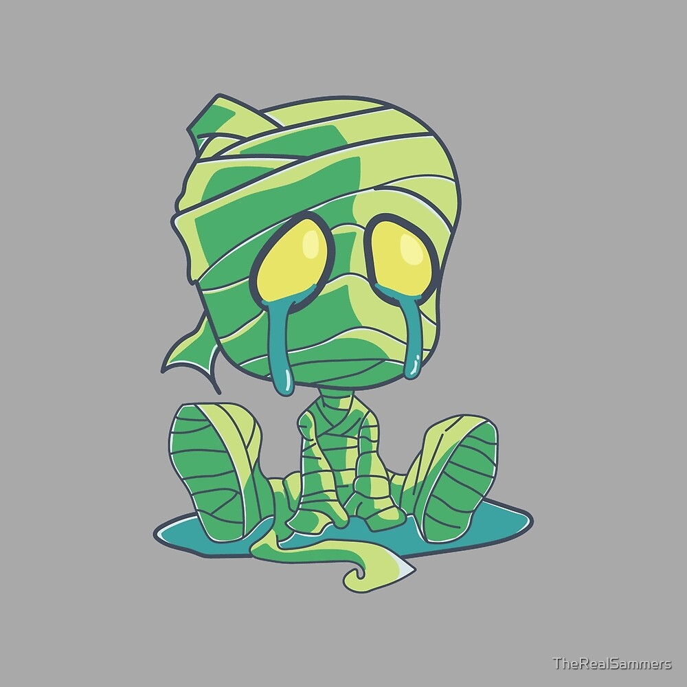 The Sad Mummy - without text by UltimateSammers