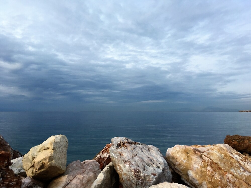 Aegean Shore by mackography