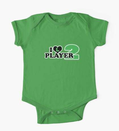 I Heart Player 2 (a) Kids Clothes