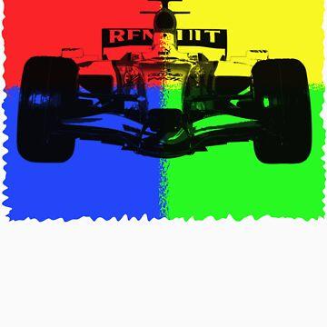 Race Car. by Teeze