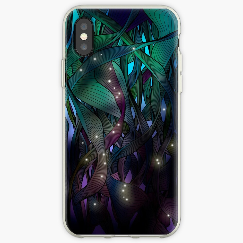Nocturne (with Fireflies) iPhone Cases & Covers