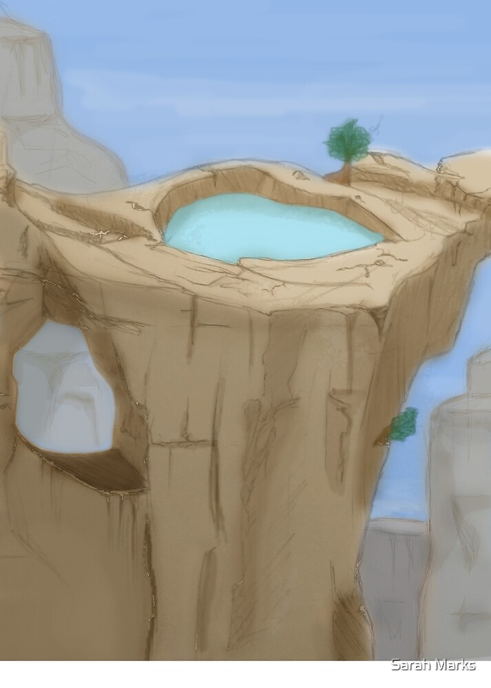 Mountain Pool by m-ae-ve