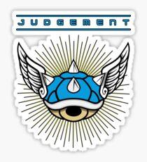 Blue Shell - Judgement Sticker