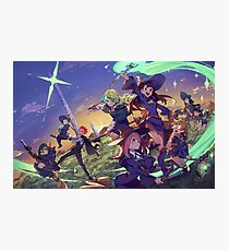 Little Witch Academia Photographic Print