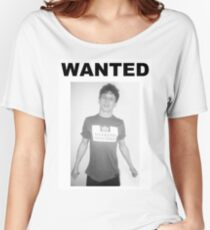 Jack O'Connell WANTED  Women's Relaxed Fit T-Shirt