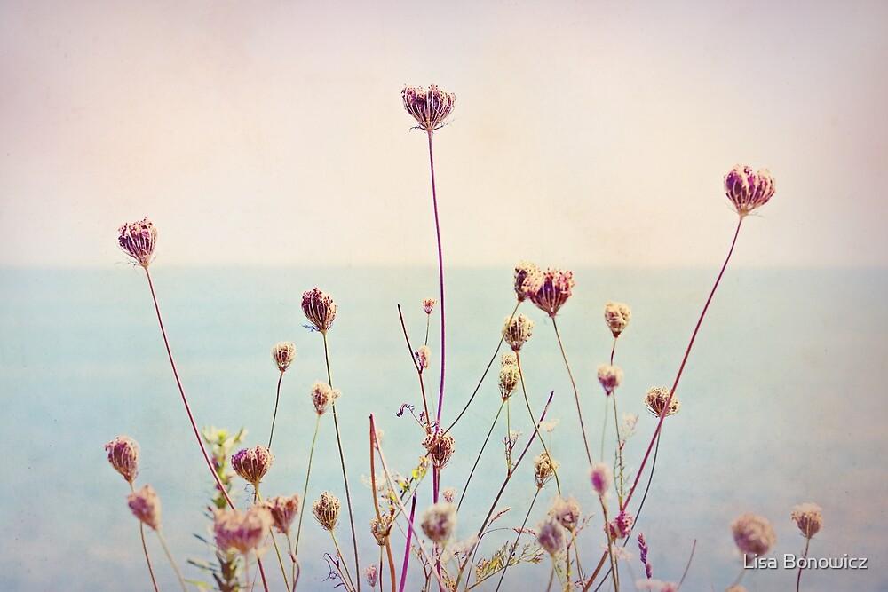 Beach Flowers by Lisa Bonowicz