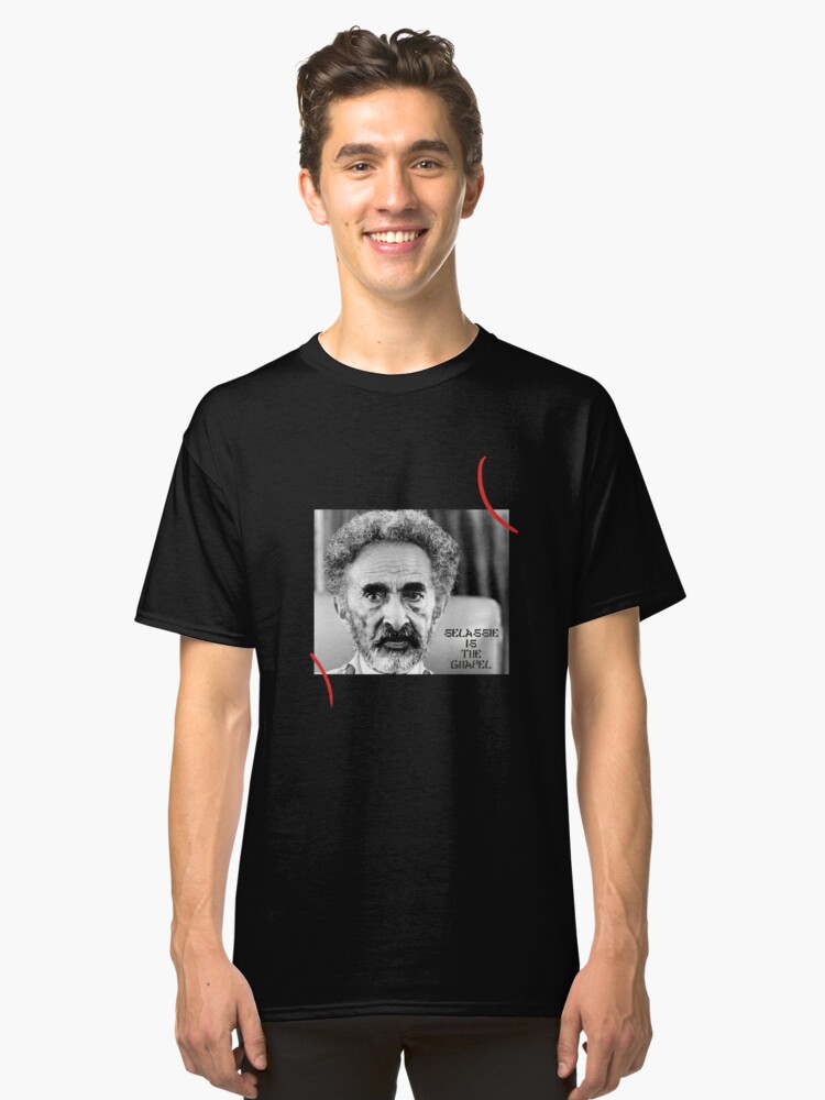 SELASSIE IS THE CHAPEL Classic T-Shirt Front