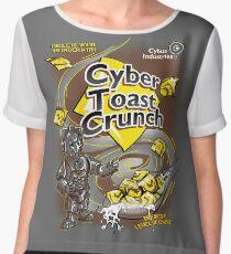 Cyber Toast Crunch Women's Chiffon Top