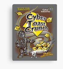 Cyber Toast Crunch Canvas Print