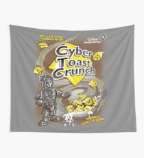 Cyber Toast Crunch Wall Tapestry