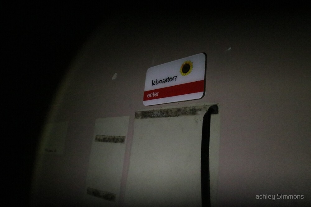 Laboratory -abandoned hospital by ashley Simmons