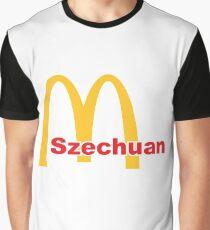 Macdonalds Szechuan Sauce Rick And Morty Graphic T-Shirt