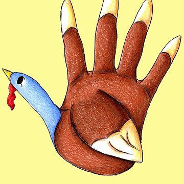 1st Turkey by KOKeefeArt